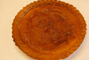 Authentic Southern Style Chess Pie