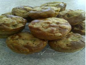 Rhubarb Poppyseed Yogurt Muffins - Part 2