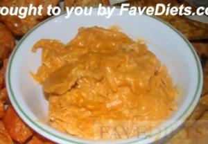 Buffalo Chicken Dip Low Carb Version