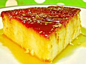 Eggless Caramel Custard