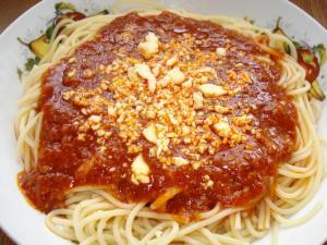 spaghetti in filipino style