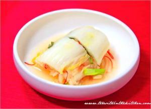 Korean Nappa Cabbage Kimchi
