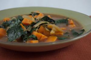 African Kale & Yam Soup