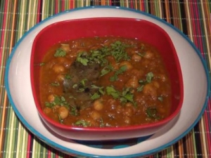 Chana Masala - Chickpeas Gravy Curry