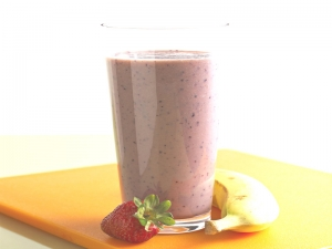Power Packed Strawberry Banana Smoothie