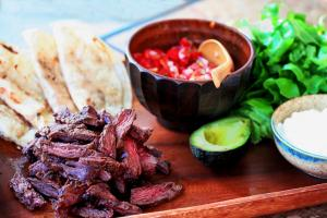 Chipotle Skirt Steak Tacos