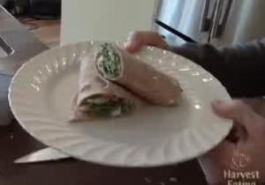 Vegetable Salad Wrap