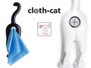 Cat Towel Holder