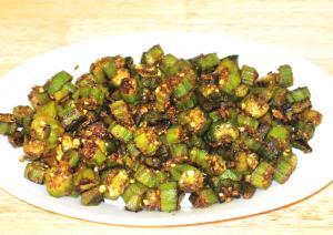 Spicy Bhindi Masala