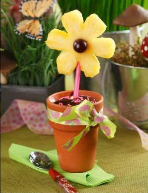 Fairytale Flowerpot Dessert