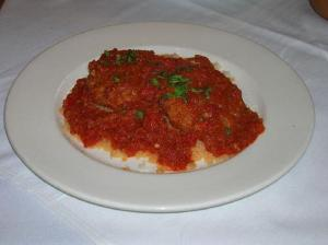 Galician Steamed Fish In Tomato Sauce
