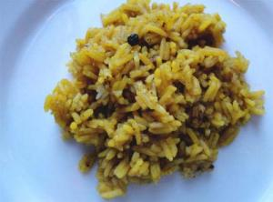 Savory Rice With Lamb