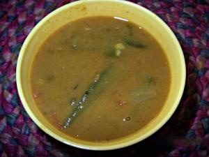 An Easy Way To Make Sambar