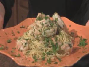 Scampi With Linguini Fini With Chef Ellie Espo