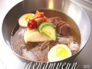 Korean Cold Noodles Naengmyeun