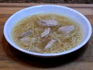 Chicken Egg Noodle Soup