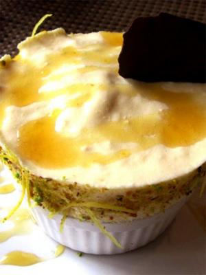 Lemon Souffle Pie