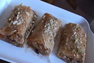 Baklava Rolls - Ramadan