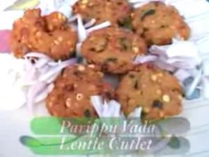 Kerala Spicy Parippu Vada