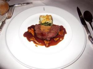 Braised Stuffed Beef Heart