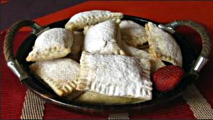 Blackberry Peach Turnovers