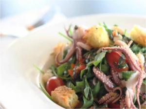 Asian Style Calamari Salad