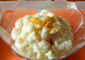 Irish Rice Pudding