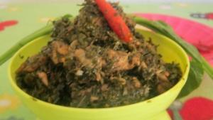 Eru or Afang Soup