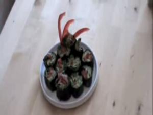 Raw Food - Vegetable Nori Rolls, Ep 18