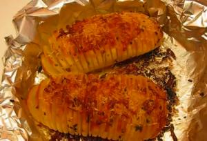 Simple and Fast Baked Potato Fans