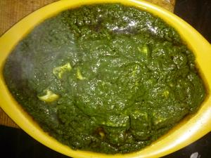 Creamy Palak Paneer