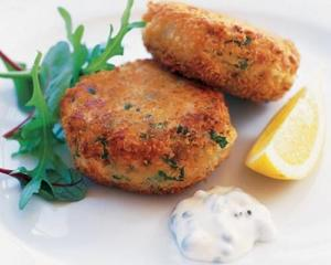 Sunday Codfish Cakes
