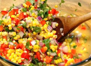 Tasty Cuban Corn Salsa