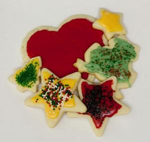 Fancy Decorated Cookies