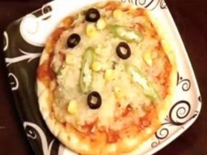 Pizza - Zucchini Cheese Pizza