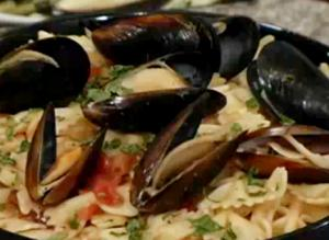 Mussels in a Butter Wine Sauce