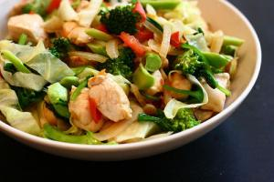 Chicken and Vegetables Stir Fry : Part 1 - Preparation