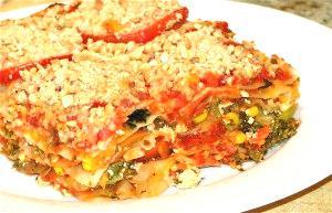 Tasty Vegetarian Sweet Potato Lasagna