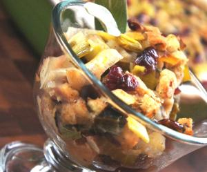 Classic Apple Cranberry Stuffing