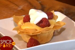 Yummy Lemon Curd Phyllo Cups