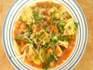 How to make Vegetable and Pasta Soup