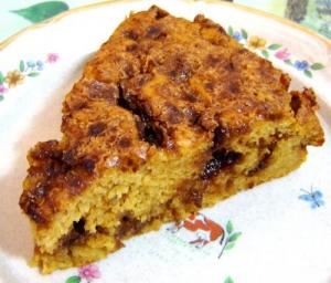 Apple Raisin Coffee Cake