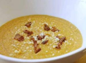 Cream Of Two Potato Soup