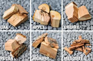 types of wood for bbq - Lit the fire through the woods and smoke in the flavor