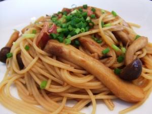 Japanese Mushroom Pasta