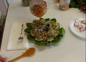 Hearty Mung Bean Sprout Salad