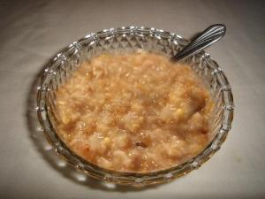 Creamy Golden Breakfast Cereal