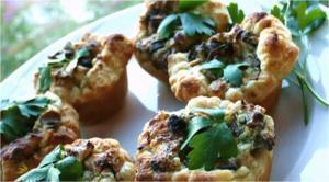 Cheesy Mushroom Tarts