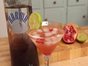 Geek Week: Bloody (Pomegranate) Margarita with Karma Tequila