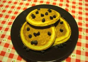 Breakfast Chocolate Chip Pancake